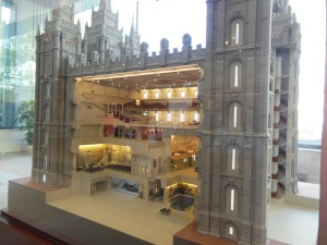 Movies A Scale Model Of The Salt Lake Temple And A Museum