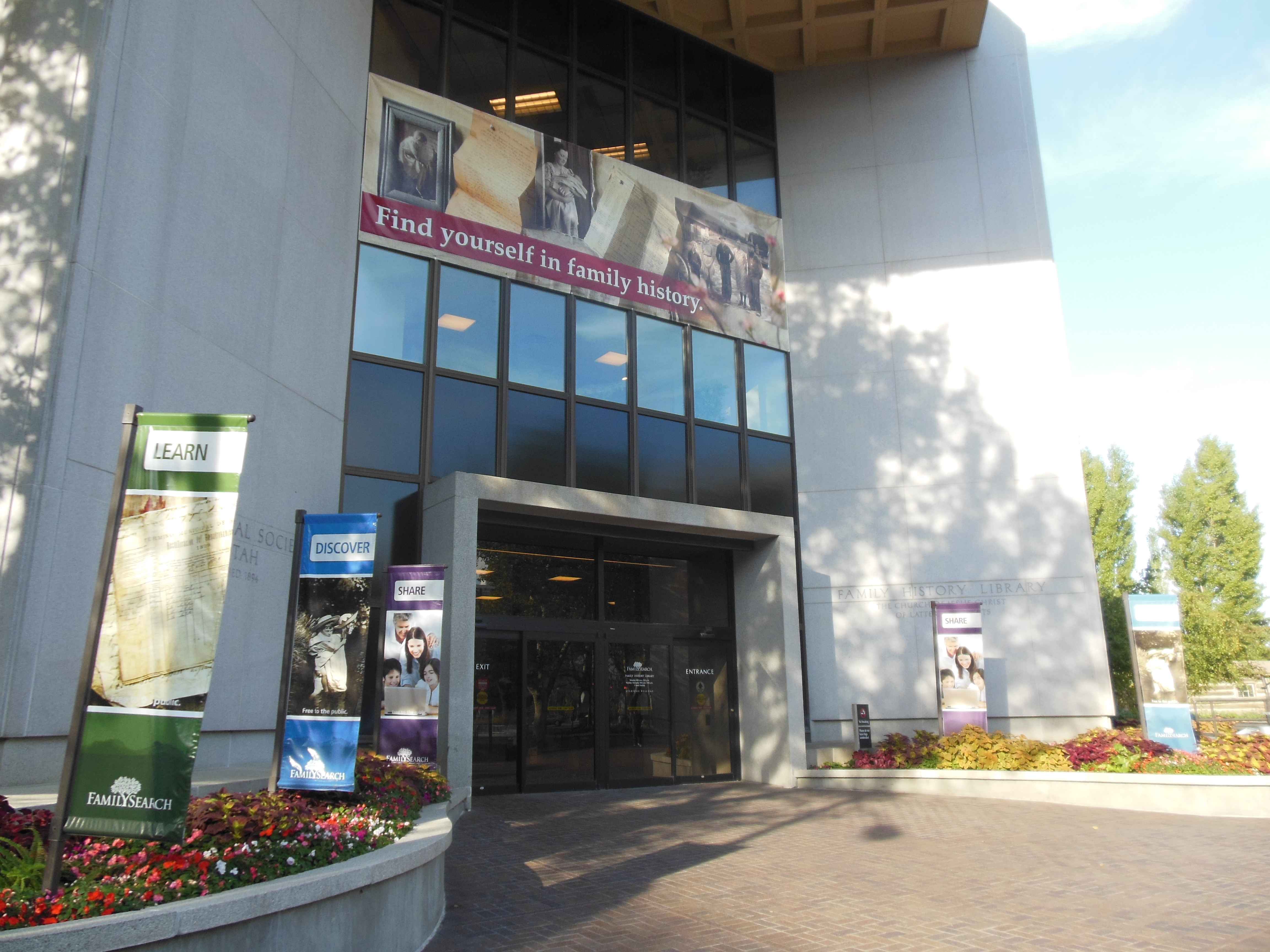 Genealogy Research | Salt Lake Family History Library