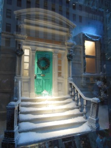 Tiffany & Co. holiday window