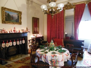 Dining room, Merchant's House Museum