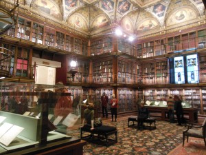The East Room of Pierpont Morgan's original library