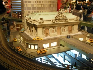 The New York Transit Museum's holiday train show at Grand Central Terminal