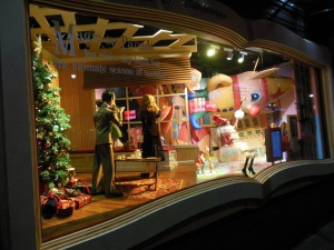 """""""Miracle on 34th Street,"""" from the """"Magic of Christmas"""" holiday windows at Macy's"""
