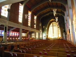 Interior of Weaver Memorial Chapel, Wittenberg University