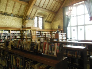 Original library, Wagnalls Memorial