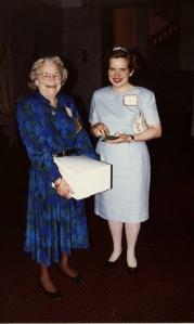 With Cornelia Lynn, 1996