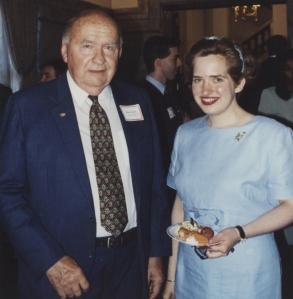 With Bruce Lynn, 1996