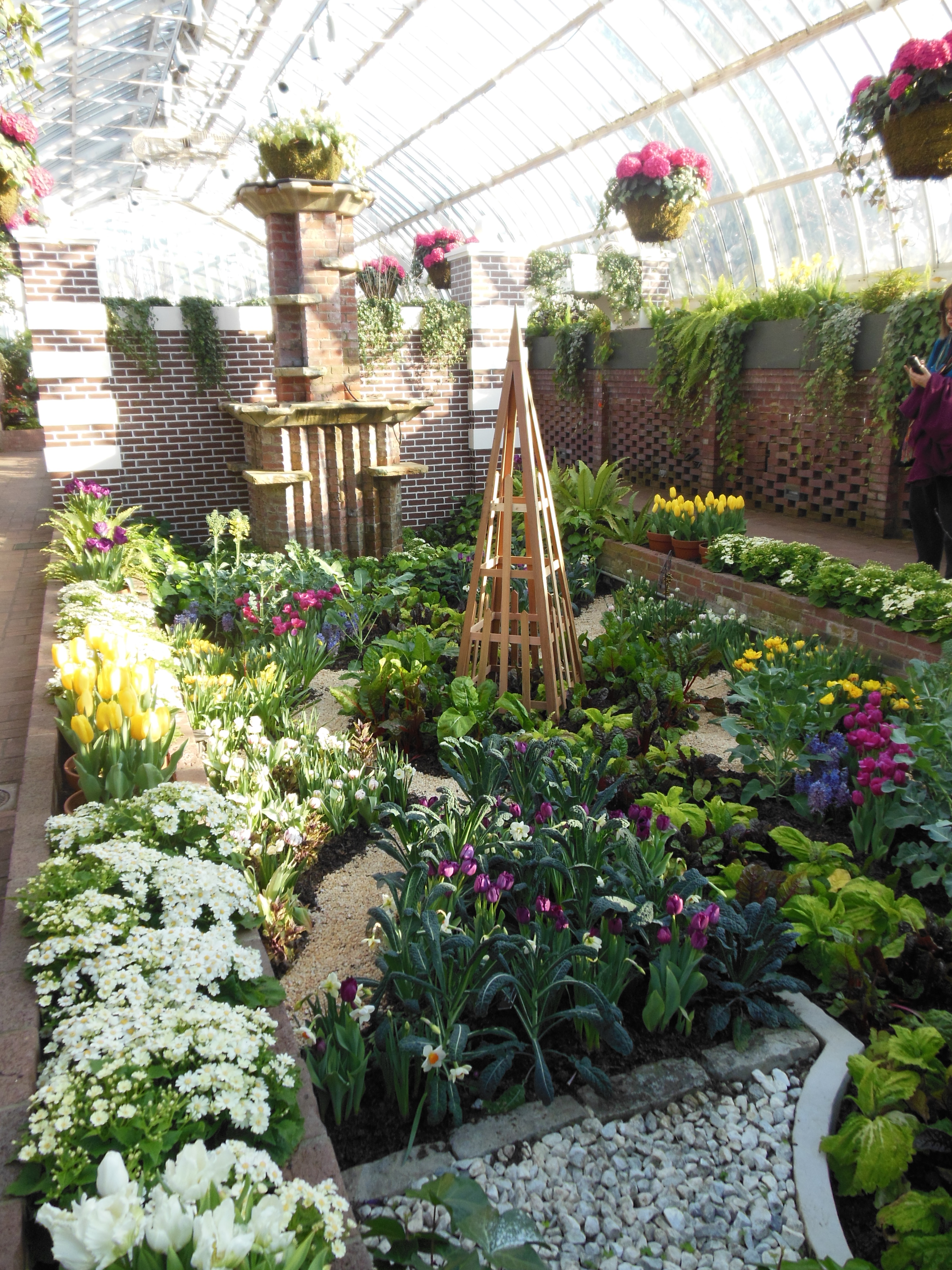 The Secret Garden Spring Flower Show At Phipps Conservatory Was So