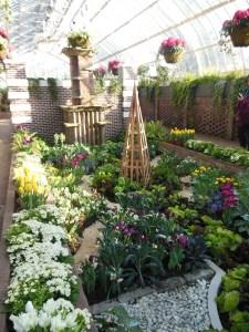 TThe Secret Garden Spring Flower Show, Phipps Conservatory