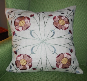 My Inglenook Textiles pillow