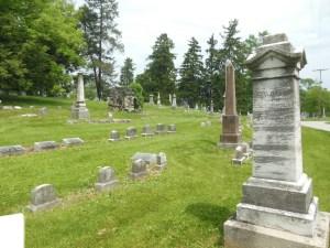 Heinmiller plot, Green Lawn Cemetery