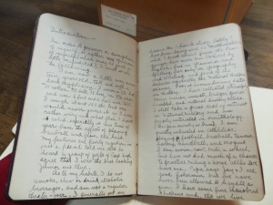 Edward Sinclair Thomas's 1908 journal, MSS 751, Box 4, Folder 19, Ohio Historical Society Archives/Library