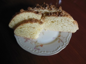 Gertrude Bauman Heinmiller's coffee cake