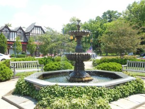 Daffodil fountain, Mariemont
