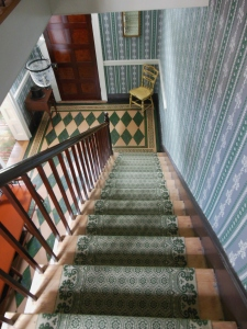 Front hall and staircase, Grant Boyhood Home