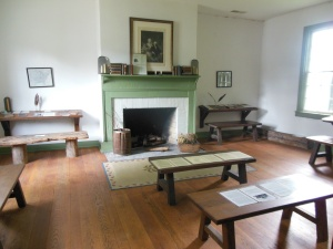 Interior of the Grant Schoolhouse, Georgetown, Ohio