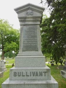William Starling Sullivant's headstone, Green Lawn Cemetery