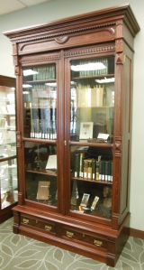 Original bookcase, Lloyd Library