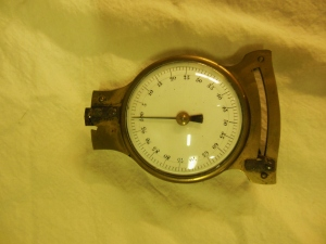 William Starling Sullivant's dial calipers, Ohio Historical Society History Collections