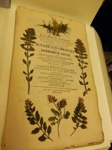 Title page, Botanica in Originali seu herbarium vivum, Lloyd Library