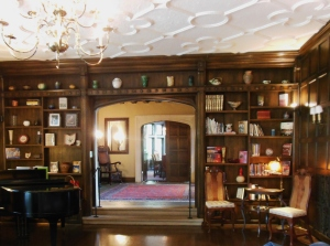 View of the foyer from the living room, Ohio Governor's Residence