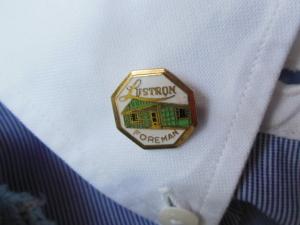 James Heinmiller's Lustron Foreman pin