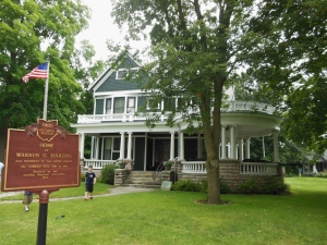 President Warren G. Harding's home, Marion, Ohio