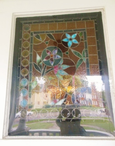 Buckeye window, Harding Home