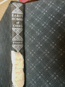 Ihna Frary's Early Homes of Ohio, Ohio Historical Society Archives/Library