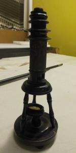 John Maynard Wheaton's microscope, Ohio Historical Society, H 90343