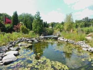 Pond, Children's Discovery Garden, Wegerzyn Gardens MetroPark