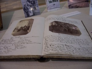 Gibraltar Journal volume on display at the Ohio State University Libraries exhibit gallery, 2011