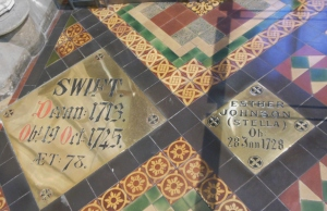 Burial place of Jonathan Swift and Stella, St. Patrick's Cathedral, Dublin, Ireland