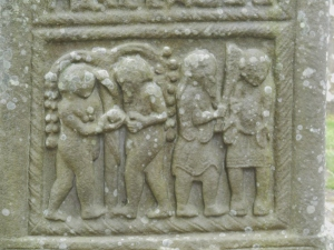 Detail of Muiredach's High Cross, Monasterboice, Ireland
