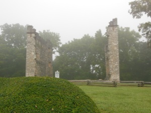 Liberty Hall ruins, Lexington, Virginia