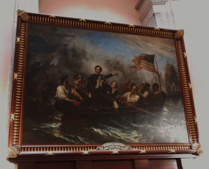 William Henry Powell's painting, Perry's Victory on Lake Erie, Ohio Statehouse Rotunda