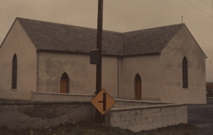 Church where John Corcoran was baptized, Curraghroe