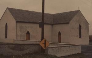Church where John Corcoran was baptized, Curraghroe