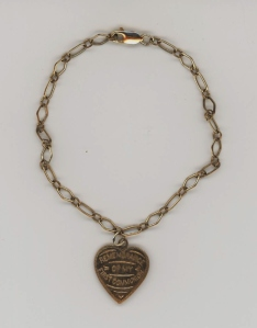 Mamie O'Connor's First Holy Communion bracelet