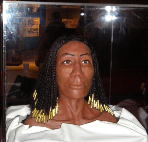 3D reconstruction of Amunet's face, Ohio Historical Society