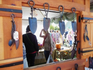 The Makers of Hand-Forged Iron's display, Country Living Fair