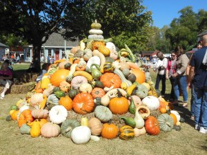Pumpkin Tower, Country Living Fair
