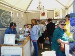 Ann Marie Craig of Century Farmhouse's tent at the Country Living Fair