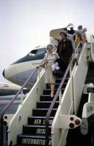 Julia O'Connor Born arriving in Ireland, July 1964