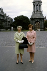 Julia O'Connor Born and Suzanne Heinmiller Butler in Dublin, Ireland, July 1964