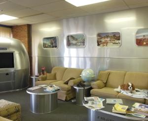 Airstream Service Center waiting room