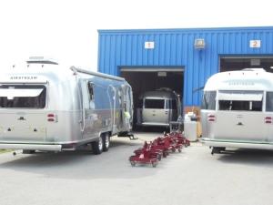 Airstream factory