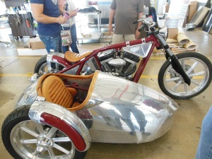 Jesse James' Airstream motorcycle, Airstream factory