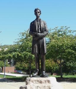 Abraham Lincoln statue, Lytle Park, Cincinnati
