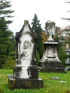 Harkness and King monuments, Spring Grove Cemetery